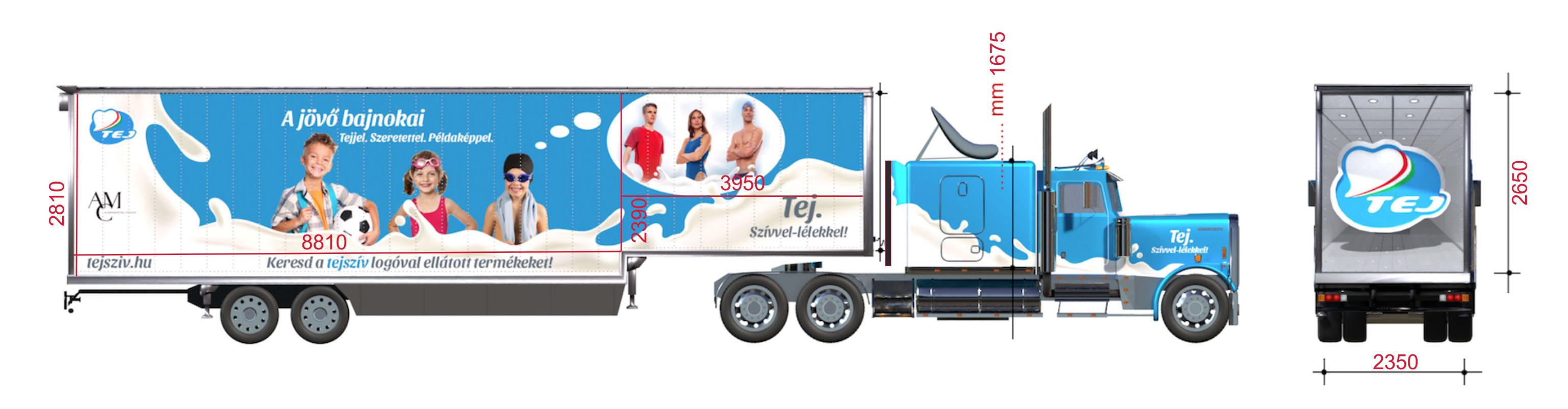 Roadshow kamion Tej 2