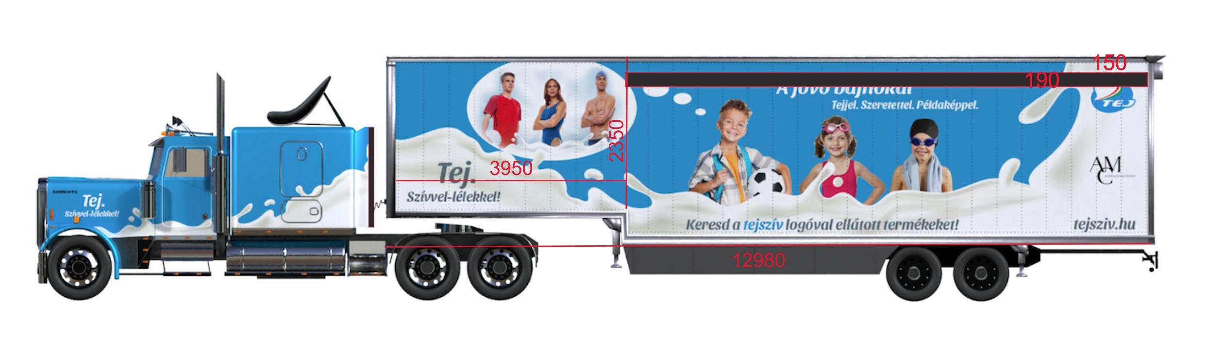 Roadshow kamion Tej