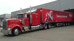 Coca-Cola roadshow rendezvénykamion