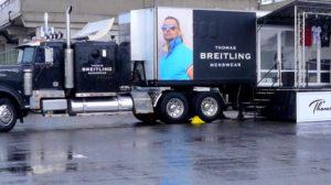 Thomas Breitling roadshow rendezvénykamion